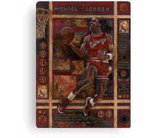 Micheal Jordan Canvas Print