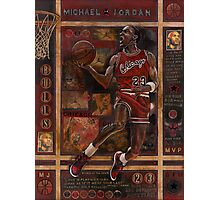 Micheal Jordan Photographic Print