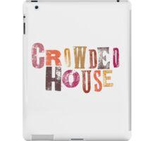 Crowded House iPad Case/Skin