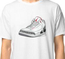 """Air Jordan 3 (III) """"WHITE & CEMENT"""" Classic T-Shirt"""