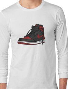 """Air Jordan 1 """"BRED"""" Long Sleeve T-Shirt"""