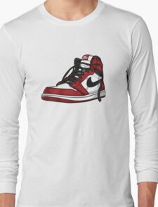 "Air Jordan 1 ""CHICAGO"" Long Sleeve T-Shirt"