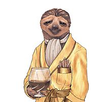Sultry Sloth Photographic Print