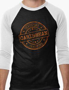 Certified Caribbean Men's Baseball ¾ T-Shirt
