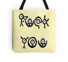 UNKNOWN UNOWNS Tote Bag