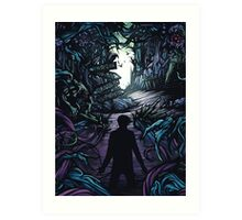 A Day to Remember Homesick Album Cover Art Print