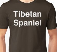 Tibetan Spaniel Unisex T-Shirt