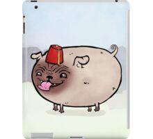 Fez wearing pug iPad Case/Skin