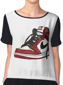 "Air Jordan 1 ""CHICAGO"" Chiffon Top"