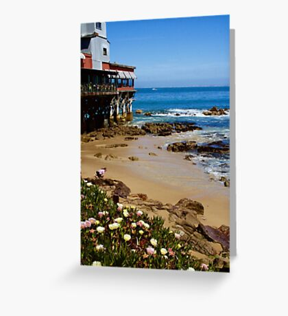 On Cannery Row Greeting Card