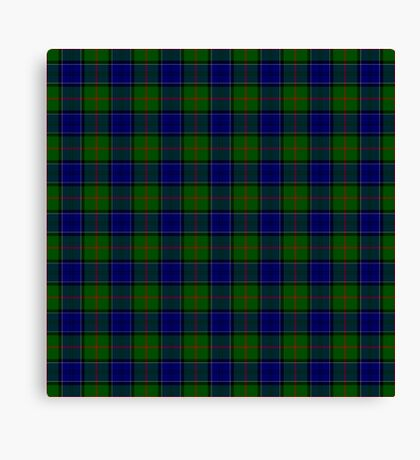 TARTAN-GREEN Canvas Print