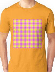 TARTAN-PINK Unisex T-Shirt