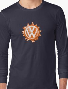 Orange VW Swirl Long Sleeve T-Shirt