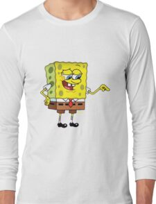 Spongebob smile? Long Sleeve T-Shirt