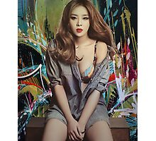 Graffiti Narsha Photographic Print