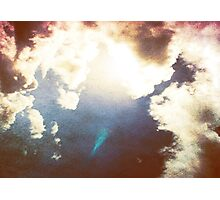 Heaven is here... - Sky Grunge Textures Photographic Print