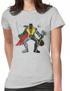 Mashups: Black Heroes Womens Fitted T-Shirt