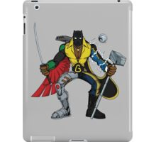 Mashups: Black Heroes iPad Case/Skin