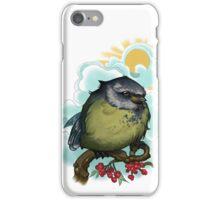 Fluffy birdy iPhone Case/Skin