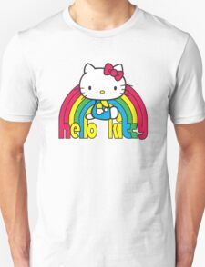 Hello Kitty Rainbow Unisex T-Shirt