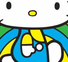 Hello Kitty Rainbow Sticker