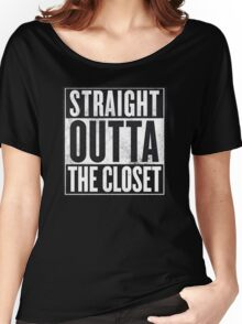 Straight Outta The Closet Women's Relaxed Fit T-Shirt