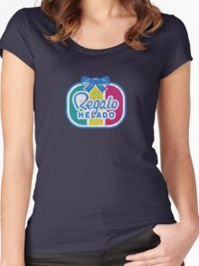 Regalo Helado Women's Fitted Scoop T-Shirt
