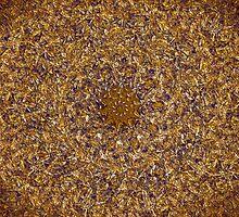"""Swirling Wooden Chips""  by Glenn McCarthy"