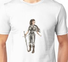 Lady Knight (Colour) Unisex T-Shirt