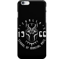 T'challa's School of Martial Arts iPhone Case/Skin