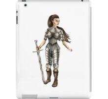 Lady Knight (Colour) iPad Case/Skin