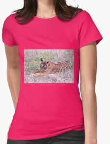 Young Bengal Tiger  Womens Fitted T-Shirt
