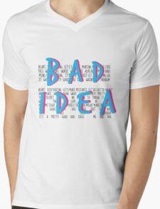 A Pretty Good Bad Idea, Me & You Mens V-Neck T-Shirt
