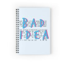 A Pretty Good Bad Idea, Me & You Spiral Notebook