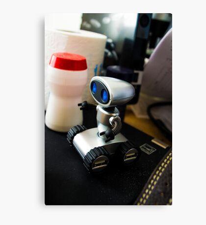 Office Robot Canvas Print