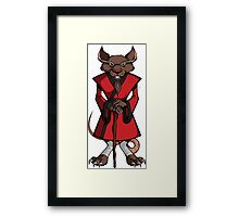 TMNT - Master Splinter Framed Print