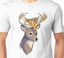 Deer, Pizza. Unisex T-Shirt