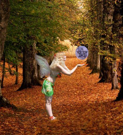 Autumn Faerie Sticker