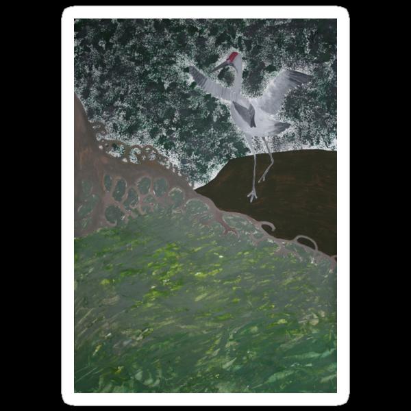 Wetland 2 by Margo Humphries