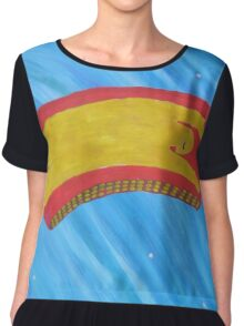 Look up in the Sky Tonight Chiffon Top