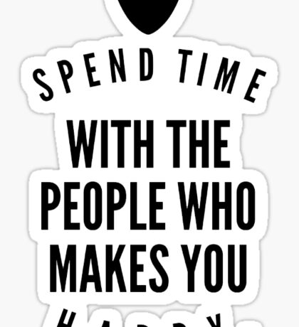 ♥ Spend time.. ♥ Sticker