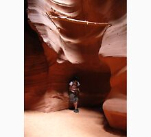 Flute Player at Antelope Canyon Unisex T-Shirt
