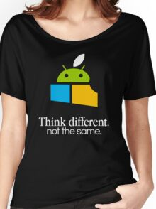Think Different, Not the Same Women's Relaxed Fit T-Shirt