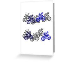 Bike Race Greeting Card