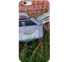 Antique Wringer Washer and Laundry Tub iPhone Case/Skin