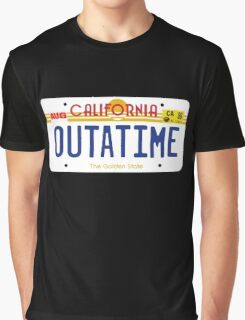 Outatime License Plate Graphic T-Shirt
