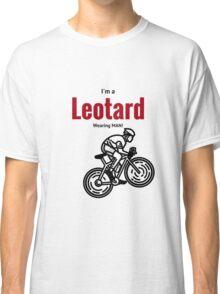 Leotard wearing man: Black & Red Classic T-Shirt
