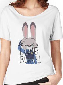 """Judy Hopps """"I Am Not A Dumb Bunny"""" Women's Relaxed Fit T-Shirt"""