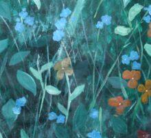 Flowers in Garden Sticker