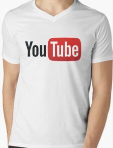 youtube Mens V-Neck T-Shirt